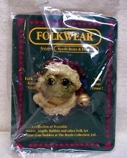 Boyds Bears Santoad Toad Pin New In Package 1995 Folk Wear Collection