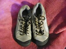 KEEN LACE UP LOW PROFILE HIKING TRAIL SHOES BEIGE BROWN WOMENS SIZE 6.5