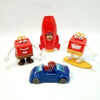 McDonalds Happy Meal Toys Hamburglar Car, Kaleidoscope Rocket... McDonalds Toys
