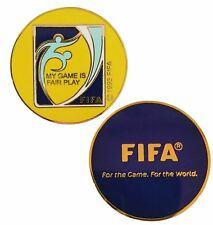 Football/Soccer Referee Game Flip/Toss Coin with Plastic Sleeve Nh-C-02
