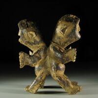 65944) Afrikanische Doppel-Figur Lega Kongo Afrika KUNST