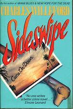 Sideswipe by Charles Willeford-1st Edition/DJ-1987