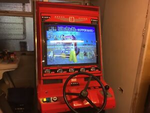 Sega.   Naomi 18. Wheeler Arcade.    Cabinet. Upright