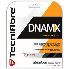 Tecnifibre Dnamx Monofilament 9.7m Squash String Set - Black DNAMX115BLA 1.15mm