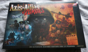 Axis & Allies & Zombies - Avalon Hill. Brand New & Sealed.