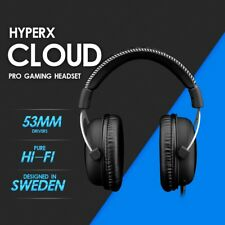 HyperX Cloud Pro Gaming Headset Silver Headphone with Mic For PC XBOX One Wii U