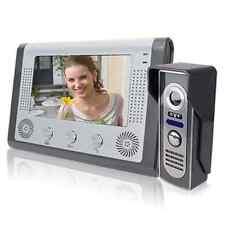 "7"" TFT LCD Color Wired Video Door Phone Doorbell Intercom System IR Night Vision"