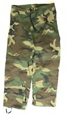 US Army ECWCS Cold Wet Weather Goretex Hose woodland camouflage Small Long