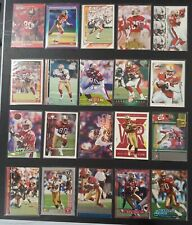 """1990-2001 JERRY RICE Lot of 20 SF 49ers Cards HOF Fast Ship """"SF Treat Yourself"""""""
