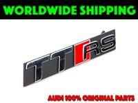 AUDI TT RS Front Grille Emblem GENUINE #8J0853736D2ZZ