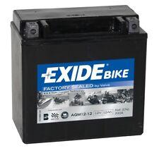 Batterie moto AGM YTX14-BS Exide AGM12-12 12V 12AH 200A 150X90X145MM