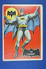 """1966 Topps Batman - #1 """"The Batman"""" - Fair/Good Condition"""