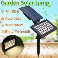 50LED Solar Power Spotlight Garden Lawn Lamp Landscape Lights Outdoor