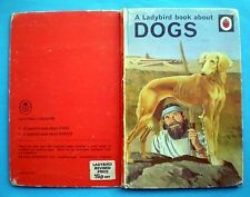 A Ladybird Book About Dogs vintage nature animals pets breeds hunting history.