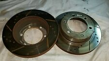"""Power Stop Brake Rotors slotted drilled front 6 x 5.5"""" see pictures"""