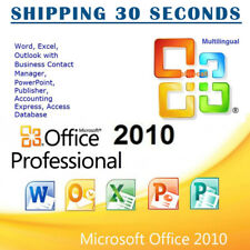 Microsoft  Office 2010 Professional Pro Plus 32/64 bit - Multilanguage
