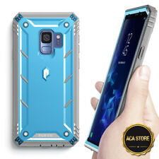 Poetic Hybrid ShockProof Rugged Cover Case For Samsung Galaxy S9 Blue