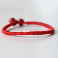 1X Women Charming Bracelet Red Rope Bangle Lucky Bracelets Leg Cord String Line