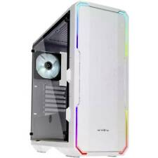 Midi-tower pc case bitfenix enso rgb bianco finestra laterale filtro per la