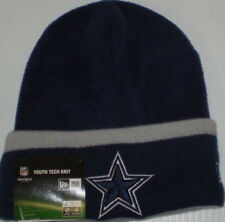 e1d7f8a67f238 NFL DALLAS COWBOYS ONFIELD YOUTH TECH KNIT HAT NEW ERA NEW NWT