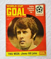 GOAL FOOTBALL MAGAZINE NO.96 JUNE 6TH 1970 - MEXICO '70