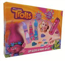 Trolls Make Up Set Lip Gloss Girls Kids Childrens Dreamworks New, Sealed