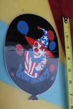 SIMS Shaun Palmer Pro Model Snowboard Clown Balloon Circus Snowboarding Sticker