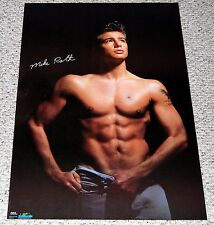 MIKE ROTH Poster 1986 Starmakers #2293 Bare Chest Cute Male Beefcake Abs Hot Guy