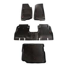 Rugged Ridge 18-18 Jeep Wrangler Unlimited JLU Floor Liner Kit Front/Rear/Cargo