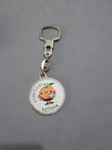 Vintage Rare Keychain Keyring Porte-Clés Mundial World Cup España Spain 82 -