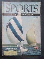 1956 SPORTS ILLUSTRATED MAGAZINE US OLYMPICS SAILING