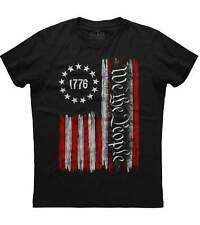 Mens American Flag We The People American Constitution 1776 Patriotic T-Shirt US