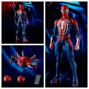 Marvel S.H.Figuarts PS4 Gamer Verse SPIDER-MAN ADVANCED SUIT Figure Boxed SHF