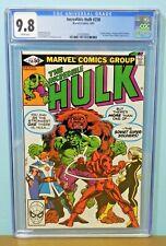 1981 Marvel Incredible Hulk #258 1st Ursa Major  Rare Hot Key CGC Graded 9.8