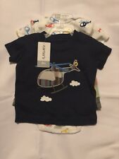 Carter's Helicopters - Shorts and 2 Body Suits - 3 pieces total