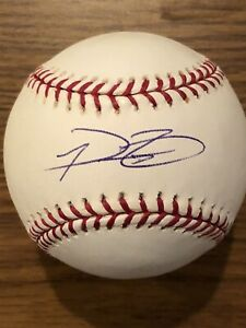 Prince Fielder Autographed ROMLB #1 (Mounted Memories)