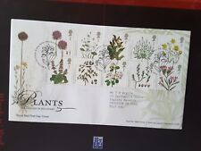 GB FDC 2009 Plants Tallents House Pmk