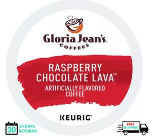 Gloria Jeans Raspberry Chocolate Truffle Keurig Coffee K-cups YOU PICK THE SIZE