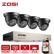 ZOSI 8CH CCTV System 1080N HD DVR 720P Home Surveillance Security Camera System