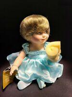 """Fine Porcelain Stuffed 15"""" Princess Diana Doll"""