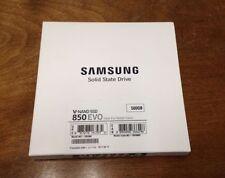 """Samsung 850 EVO 500GB SATA III 2.5"""" (MZ-75E500E) SSD - BRAND NEW"""