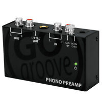 Mini Audio Component Phono Preamp with 12 Volt AC Adapter