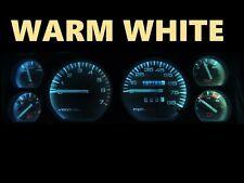 84 96 Jeep Cherokee Wagoneer Gauge Cluster LED Dashboard Bulbs Warm White