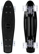 """Enkeeo PLASTICA Cruiser Skateboard 22"""" per bambini e adulti con Nero Robusto 4"""