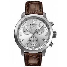 NEW TISSOT MENS SWISS PRC 200 CHRONOGRAPH WATCH - T0554171603700 - RRP £345