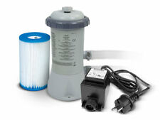 Intex 28604GS Bomba de Filtro 2271l/H Piscina + 12V Transformador