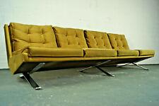 Sofa & 2x Sessel Gleitkufen Easy Chair Arnold Bode Federholzgesellschaft 50er