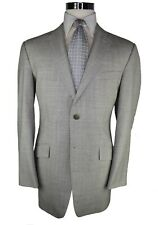 Richard James Mayfair Silver Textured 100% Wool 2-Btn Single Breasted Suit 42R