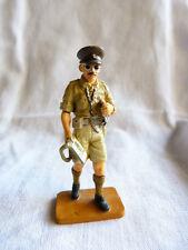 Soldat de plomb des 2 guerres Delprado -Cpt. Royal fusiliers desert army UK 1942