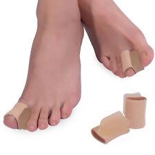 2PCS Alivio Dolor Gel Suave Bunion corrector-Almohadilla dedo gordo del pie separadores Plancha
